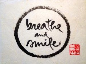 Thich Nhat Hanh calligraphy