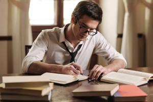 Male writer