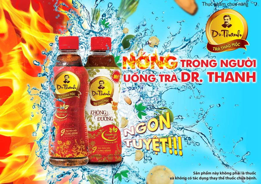quang cao dr thanh advertising print ad