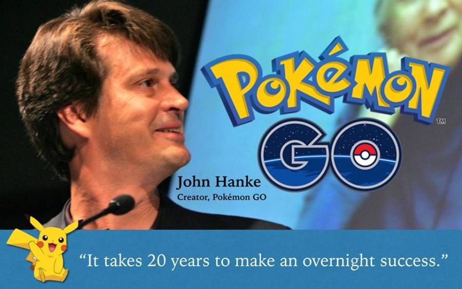 pokemon go's creator john hanke, CEO niantic labs